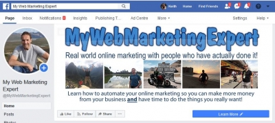 MyWebMarketingExpert Facebook page