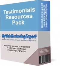 Testimonials resources pack