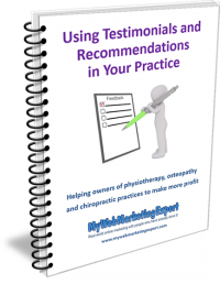 Using testimonials in your practice